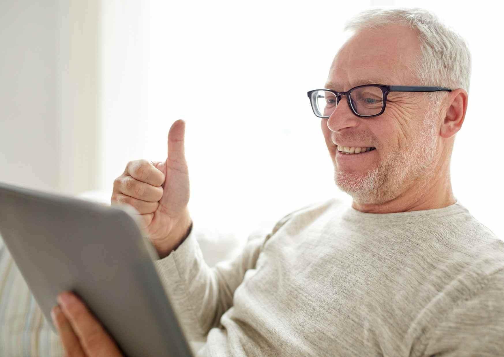 Die Online-Sprechstunde ist für mobil eingeschränkte Menschen eine echte Chance.